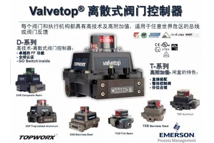 信为科技代理艾默生TOPWORX产品TXPTXSTVA系列